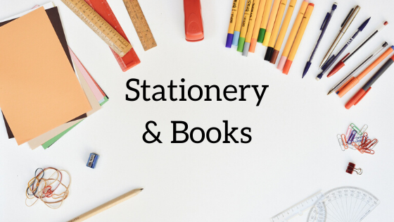 Stationery and Books Shop