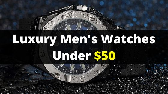 5 Luxury Men's Watches Under $55 Available on Ali Express