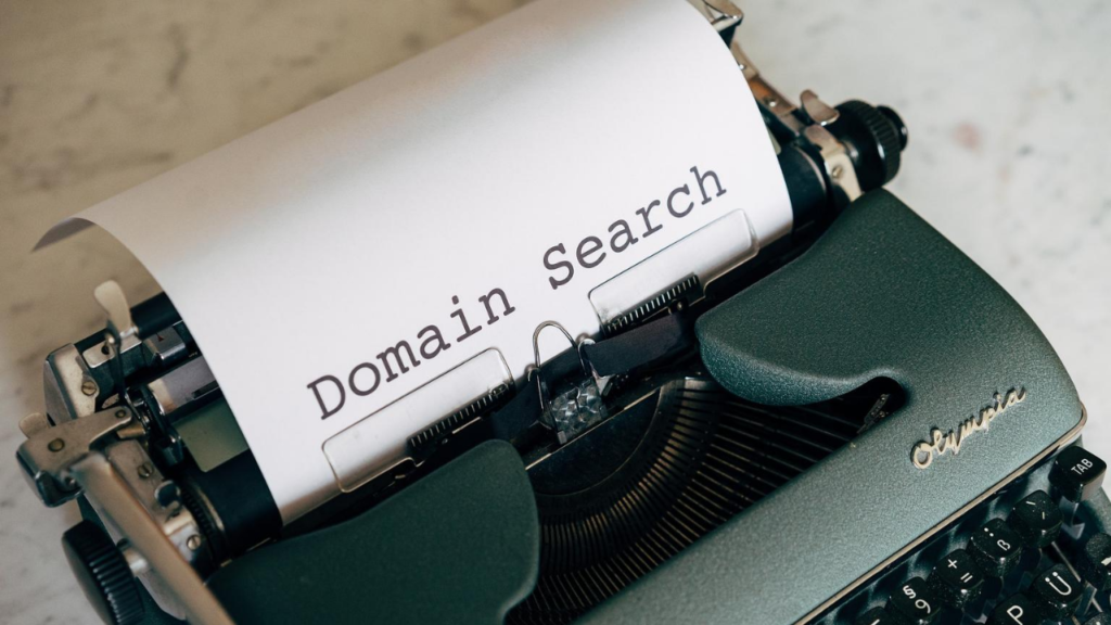 Domain Name Search for blogging